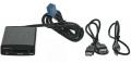 Adaptér pro ovládání USB zařízení OEM rádiem Peugeot, Citroen/AUX vstup