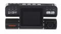 Černá skříňka 2-kanálová kamera s LCD