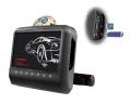 MonitorDVD/SD/USBs držákem na opěrku černý