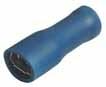 Objímka plochá celoizol. 4,8mm modrá