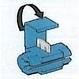 Rychlospojka - vodič do 2,5 mm - modrá
