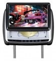 Set LCD monitor v opěrce s IR vysílačem DVD/SD/USB