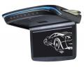 Stropní monitor černý s DVD/SD/USB,ultra tenký