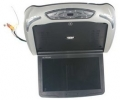 Stropní výklopný monitor černý/ šedý s DVD/SD/USB